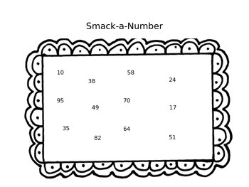 Smack-a-Number...A double digit subtraction game
