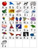 Small Alphabet Cards