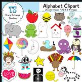 Small Alphabet Clipart Set {Tracy Sztanya Studios}
