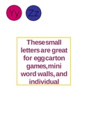 Small Alphabet Letters Set