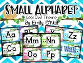Small Alphabet (Owl Theme)