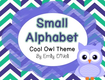 Small Alphabet (Owl Theme)