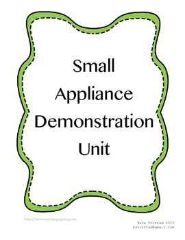 Small Appliance Demonstration