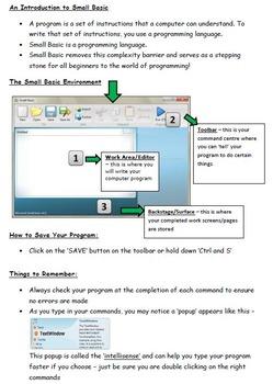 Small Basic Computer Language Programming (coding) Introdu