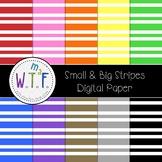 Small & Big Vertical Stripes - Digital Paper