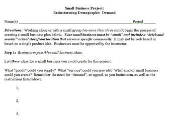 Small Business Project