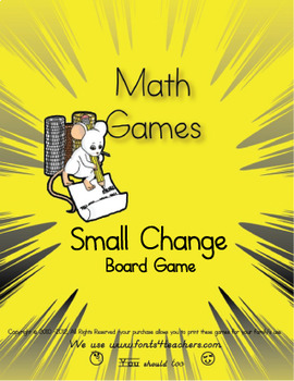 Small Change Board Game