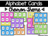 Chevron Alphabet Cards SMALL