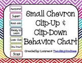 Chevron Clip Up Clip Down Behavior Chart