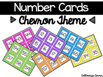 Chevron Numbers SMALL