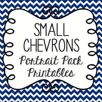 Small Chevrons Portrait Pack