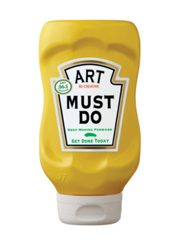 Small Condiments Posters (Ketchup, Must-Do, May-Do, Free Pick)