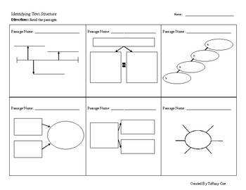 Small Graphic Organizers