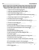 Small Group #3 - Vocabulary Puzzle Worksheet
