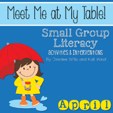 Small Group April ~ Meet Me At My Table