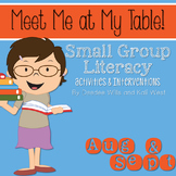 Small Group August and September ~ Meet Me At My Table