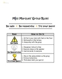 Small Group Behavior Rules & Expectations