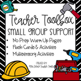 Teacher Toolbox Small Group Phonemic Awareness Support