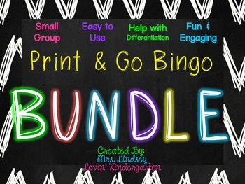 Small Group Bingo Bundle