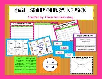 Small Group Counseling Bundle