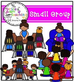 Small Group Clipart Set (The Price of Teaching Clipart Set)