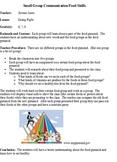 Small Group Communication/Food Skills
