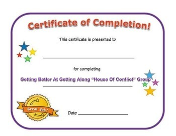 Small Group Completion Certificate: Getting Better At Gett