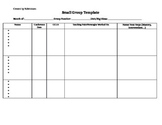 Small Group Conference Template