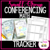 UPDATED Small Group Conferencing Math Tracker!