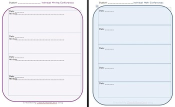 Small Group & Conferencing Organization using Color-Coded Clipboards or Folders