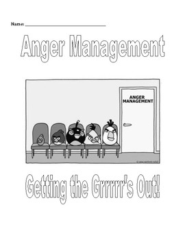 Small Group & Individual Counseling: Anger Management Activities Packet