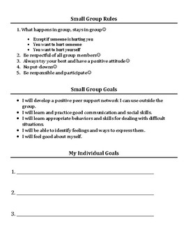 Small Group & Individual Counseling: Anxiety Activities Packet