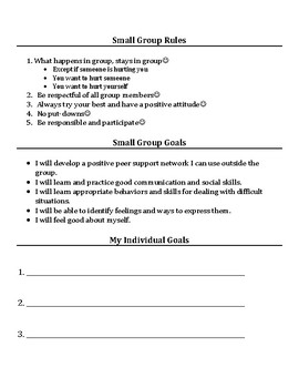 Small Group & Individual Counseling: Family Change Activities Packet