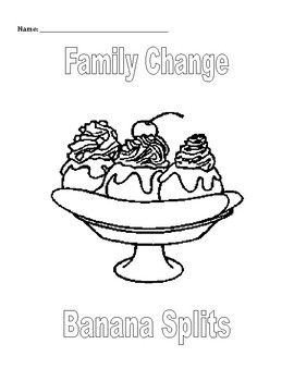 Small Group & Individual Counseling: Family Change Activit