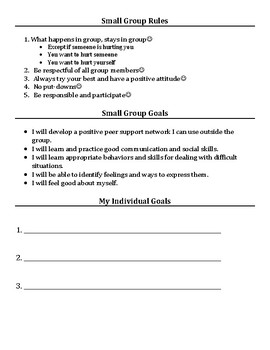 Small Group & Individual Counseling: Grief and Loss Activities Packet