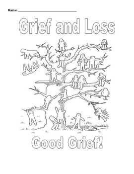coloring pages on grief - photo#36