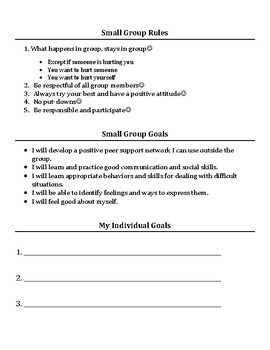 Small Group & Individual Counseling: Peer Conflict Activities Packet