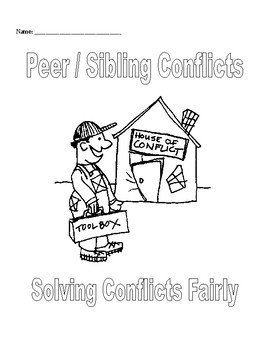 Small Group & Individual Counseling: Peer Conflict Activit