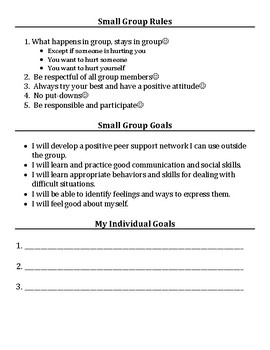 Small Group & Individual Counseling: Self-Esteem Activities Packet