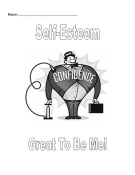 Small Group & Individual Counseling: Self-Esteem Activitie