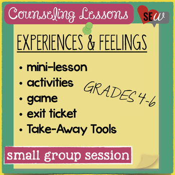 Personal Experiences & Emotions for Small Group Counseling