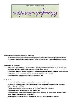 Small Group Cue Card--math 1:1