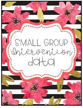 Small Group Editable Planner