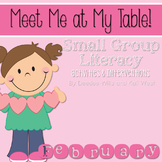 Small Group February~ Meet Me At My Table