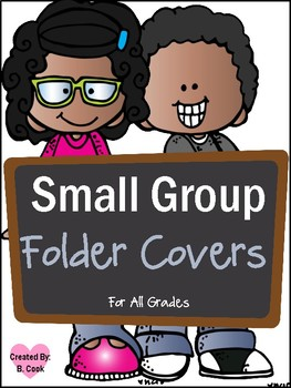 Small Group Folders and Labels (African American MelonHeadz)