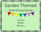 Garden Themed Bugs- Bingo Cariboo Memory