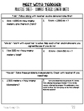 Small Group Guided Math Module 2