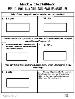 Small Group Guided Math Module 3