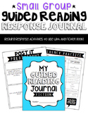 Small Group {Guided Reading} Response Journal for Fiction