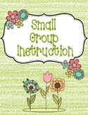 Small Group Instruction Cover